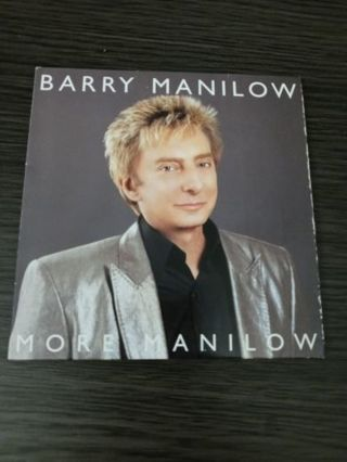 Barry Manilow more Manilow CD