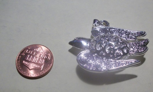 Silver 925 Pretty Dove Pendent
