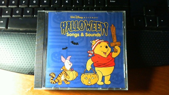 free walt disney records halloween song sounds cd