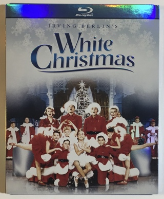Irving Berlin's White Christmas - 1954 Bing Crosby Holiday Movie (Blu-ray, 2010) - Mint Disc!