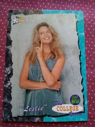 Saved By The Bell The College Years Trading Card