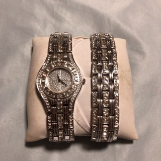 Geneva Women's 18k Gold Plated Watch