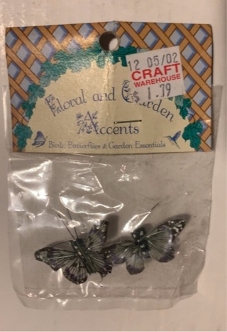 Arts and crafts 2 small butterfly's