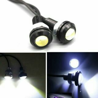 2X LED DRL Eagle-Eye Auto Car Motorcycle Daytime Running Tail Light 10W DC 12V