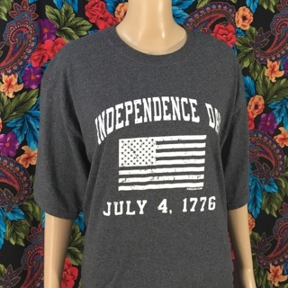 Men's 4th of July Shirt Independence Day 1776 Tee XLT Tall Men's Top tShirt FREE SHIPPING