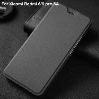 Xiaomi Redmi 6 Case Redmi 6 Pro Flip Cover leather Plastic Protective Case Capas Coque Apises Orig