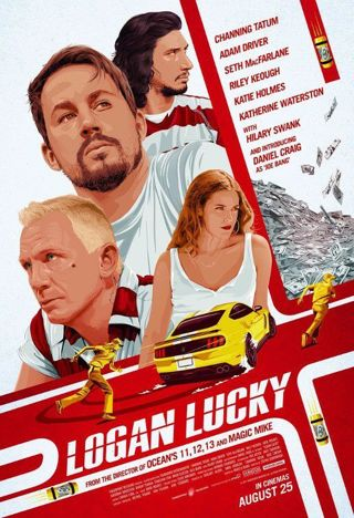 Logan Lucky *Digital HD code for an ITUNES REDEEM ONLY* *PORTS to connected retailers*