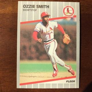 1989 Fleer Ozzie Smith