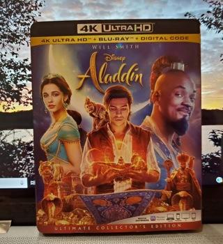 Disney ALADDIN 4K ULTRA HD + Blu-Ray