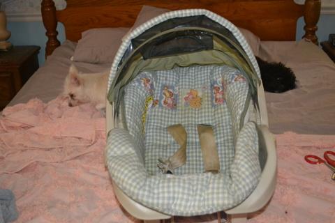 FREE Infant Car Seat Winnie Pooh Graco