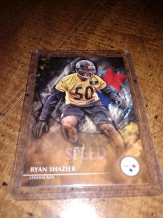2014 Topps football ,Ryan Shazier,rookie Pittsburgh Steelers