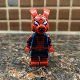 New Spider Pork Minifigure Building Toy Custom Lego