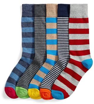 Men's 5-Pack Patterned Socks