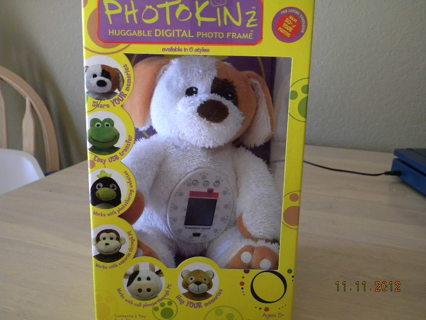 Free: ***PHOTOKINZ : HUGGABLE DIGITAL DOG PHOTO FRAME*** - Memory ...