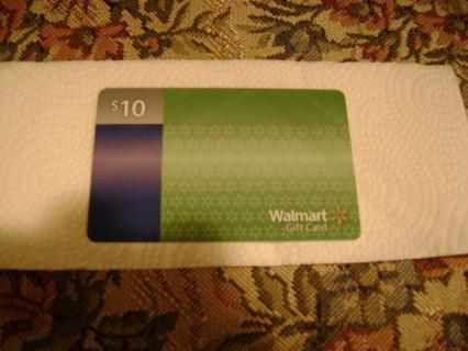 Walmart Gift Card.GIN.Free Shipping.!!!