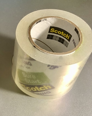 BNIP A Roll 3M Scotch, Clear, Thick Tape. Great For Use Throughout Home / Garage