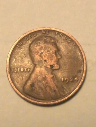 1924 Wheat-Ear Penny