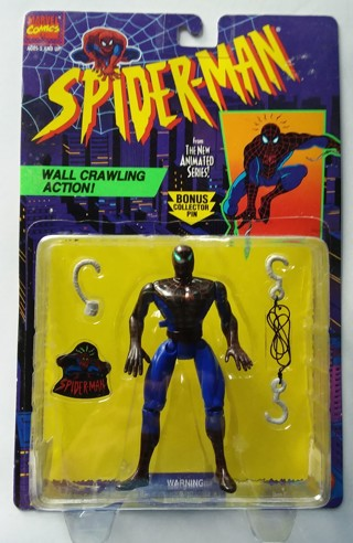 Spider-Man Animated Series Action Figure Spider Sense Opened