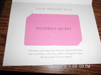 Free victorias secret gift card brand new free shipping victorias secret gift card brand new free shipping negle Images