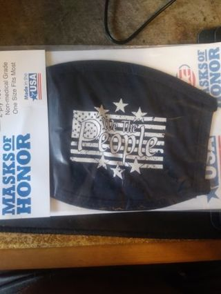 We The People Washable And Reusable Mask