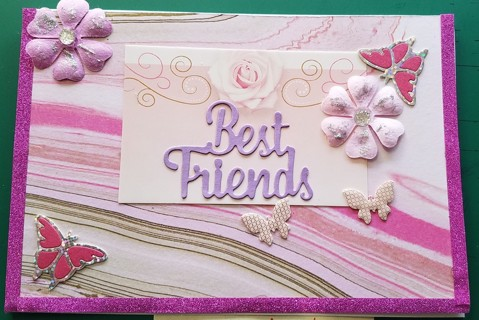 """BN """"BEST FRIENDS"""" HAND CRAFTED CARD~~"""