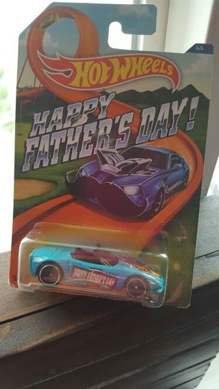 HOT WHEELS Corvette C6 -Happy Fathers Day