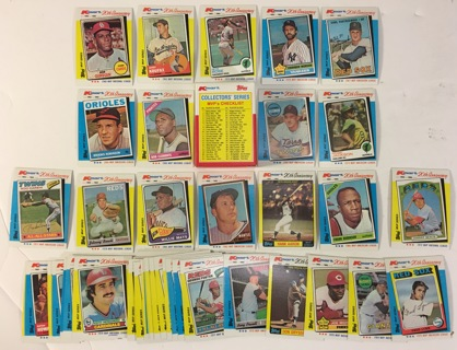 Topps Limited Edition Kmart 20th Anniversary 1962-1982 AL & NL MVPs Baseball Collectors Series Cards