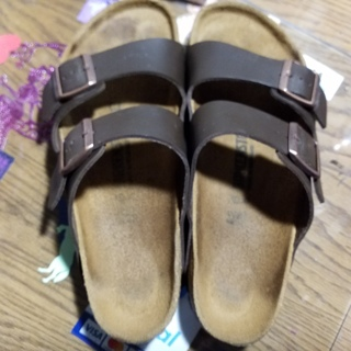Mens Birkenstocks, sz 10, EUC, worn once