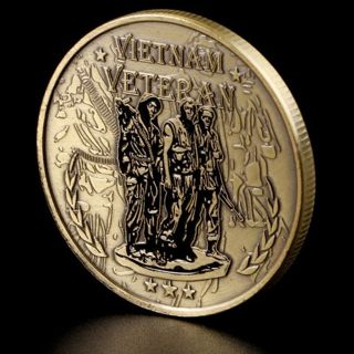 Vietnam War veteran Commemorative Coin