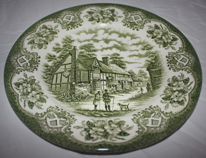 Free: PLATE OLD INNS SERIES ENGLISH IRONSTONE TABLEWARE LIMITED HAND ...