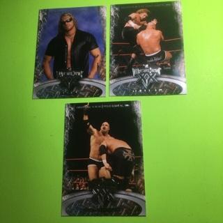 3 Fleer 2004 WWE Celebrating 20 years Cards!