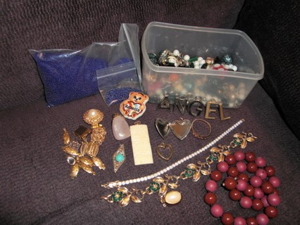 Jewelry Junk Drawer, Repair, Repurpose, Wearable!!!!!