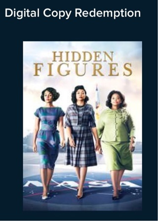 Hidden Figures. Digital HD. Vudu