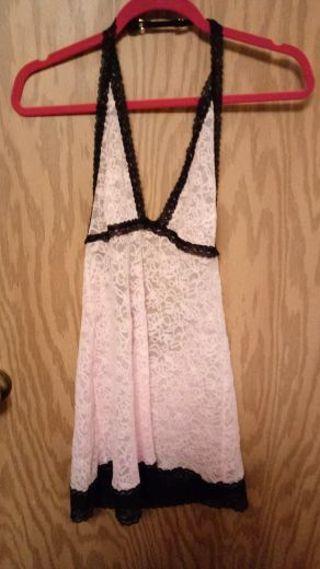 Victoria Secret Lace Nighty/ LG
