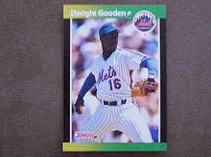 Dwight Gooden - lot of 5 cards - 1989 Donruss #270 - all mint - Mets All-Star