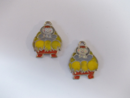 Baby Jesus in Manger Charms NEW Qty. 2