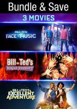 Bill N Ted's Excellent Adventure 3 Movie Pack
