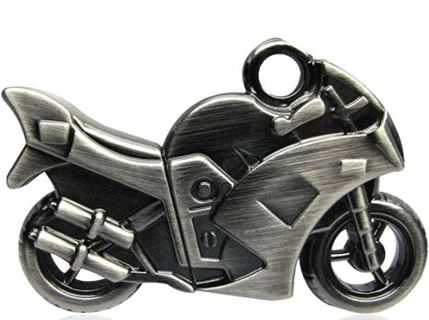 WooTeck 16GB Strong Metal Motorcycle USB Flash Drive Memory Stick