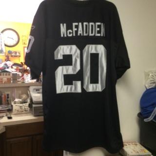 Darren McFadden Raiders Stitched Size 52 Jersey > FREE SHIPPING!