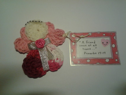 Friendship/Scripture Angel-Free Shipping!!
