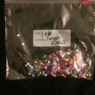 280 pieces mixed body jewelry + surprise bonus items