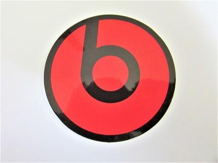 BEATS Vinyl Sticker- Helmet/Car/Skateboard/Business/Crafts