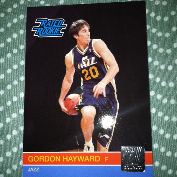 Free Gordon Hayward Rookie Card Utah Jazz Nba Sports Trading Cards Listia Com Auctions For Free Stuff