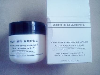 """Adrien Arpel """"4 Creams in One"""" NIB"""