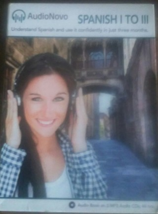 AudioNovo Spanish CDs 1 to 3 - Learn to Converse in 3 Months Rollback Price!!!