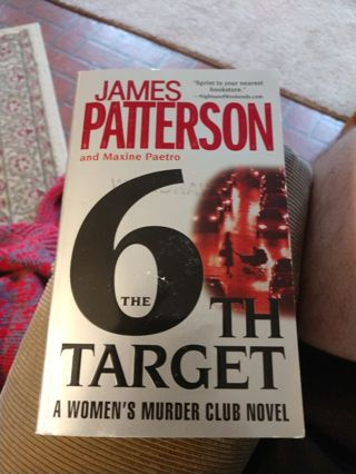 The 6th Target by Patterson & Paetro (paperback)