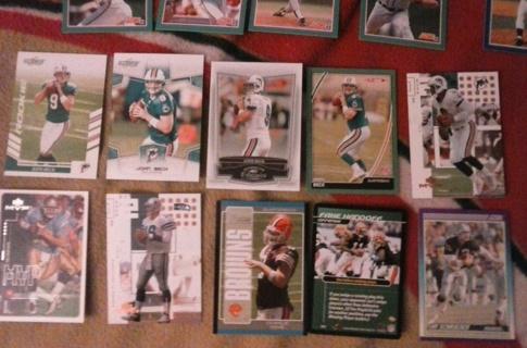 10 card nfl qb's lot rookies