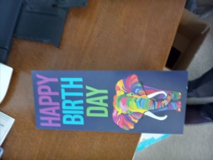 1 Birthday Card