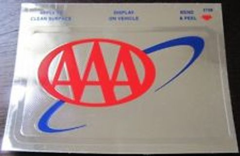 Triple A Car Insurance >> Free Aaa Triple A Insurance Reflective Foil Car Decal