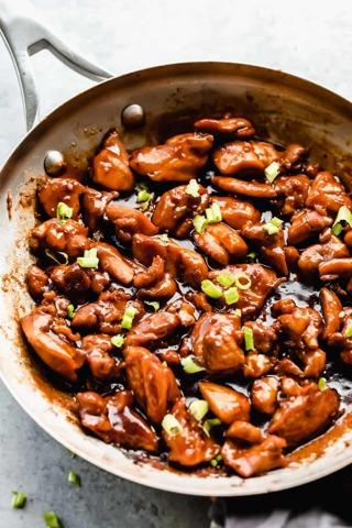 • (New) Bourbon Chicken Bites Recipe •